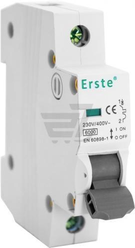 Автоматичний вимикач Erste EB5-63 1P 32A тип С 6кА
