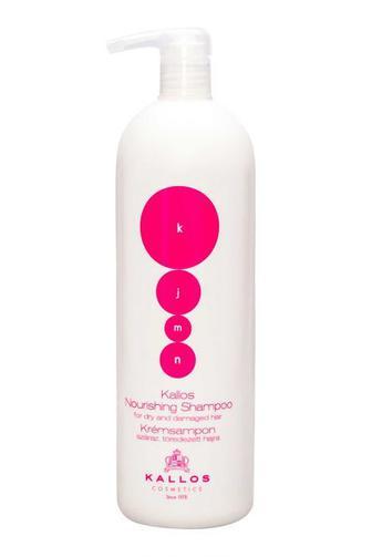 Каллос шампунь питательный для сухих и поврежденных волос с дозатором 1000мл