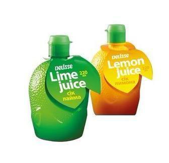 Сік лайма або лимона 220мл