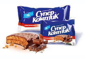Скидка 35% ▷ Печенье Супер-Контик 100 г