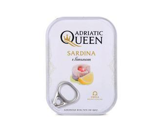 Сардини Adriatic Queen з лимоном в олії, 105г