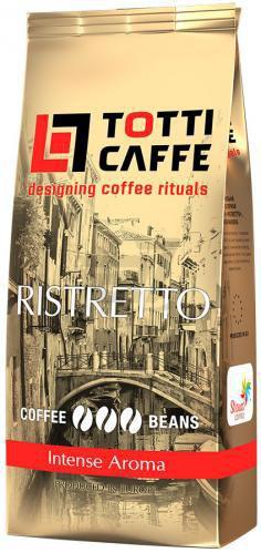 Кава в зернах Totti Caffe Ristretto 1000 г (8719325020076)