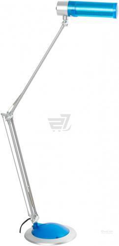 Настільна лампа офісна Accento lighting 1x20 Вт E27 блакитний ALR-T-;ALR-T-RF2112-MB