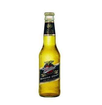 Пиво світле Дженьюін Драфт Міллер 0,45 л, 0,5 л