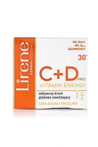 Крем для лица Lirene С+D Интенсивно увлажняющий питательный, 50мл