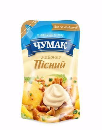 Майонезний соус Пісний 30% Чумак 160г