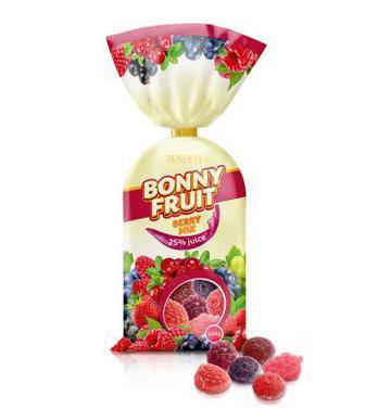 Желейні цукерки Bonny-fruit berry mix Рошен 200г