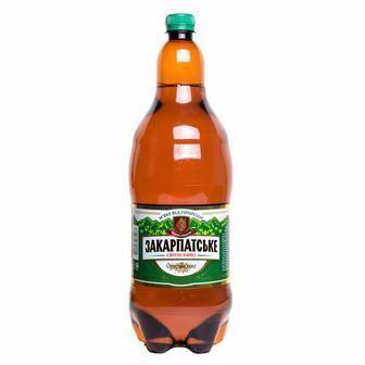 Пиво Закарпатське ППБ 2л