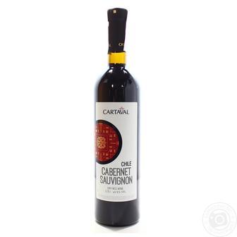 Вино Совиньон, Карменер Картавал красн., белое сухое 0,75 л