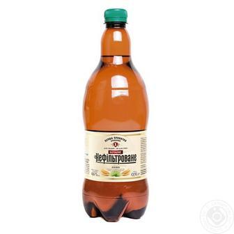 Пиво ППБ Нефільтроване 0,9Л