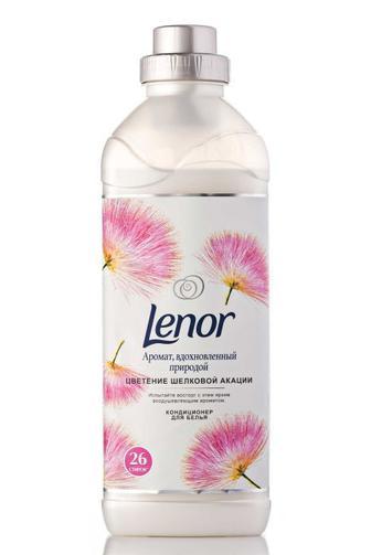 Кондиционер для белья LENOR Цветение шелковой акации, 1000мл