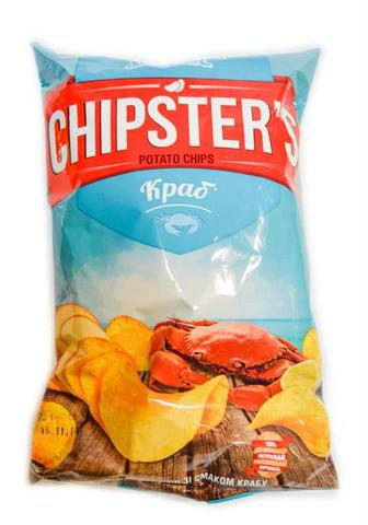 Чіпси зі смаком краба Чіпстер 70г