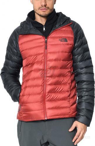 Куртка THE NORTH FACE M Trevail Hoodie T939N487D L червоний