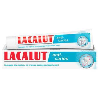 Скидка 35% ▷ Зубна паста Lacalut Anti-caries 75мл
