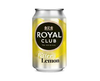 Напій Royal Club безалкогольний газований, Гіркий лимон, 0,33 л
