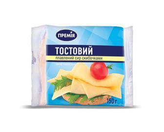 Сир плавлений, Тостовий, Премія, 150 г