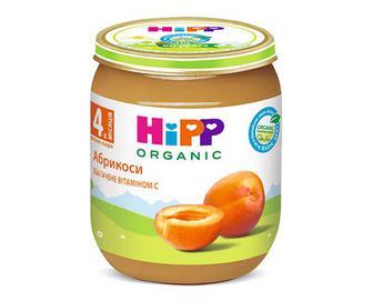Пюре HiPP абрикоси, 125г