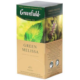 Чай Greenfield Green Melissa зелений 25шт