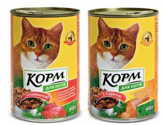 Корм для кошек Повна Чаша 415 г