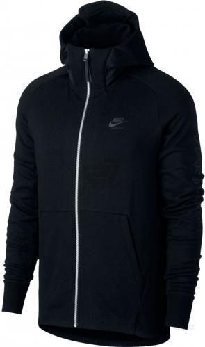 Джемпер Nike Air Max Full-Zip French Terry M NSW HOODIE AIR MAX FZ FT р. XL чорний 886071-010