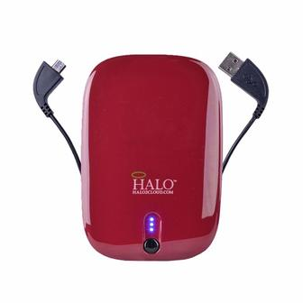 Мобильная батарея HALO Pocket Power 6000mAh Burgundy