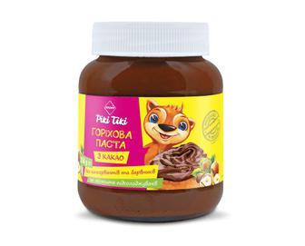 Паста горіхова з какао «Премія Рікі Тікі»® 350г