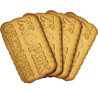 Печиво Жорик-Обжорик, цукрове за 100 гр