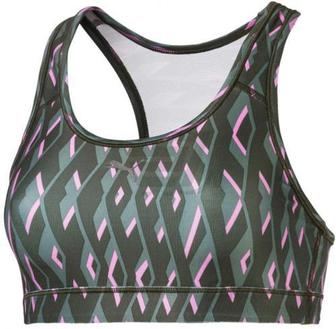 Топ Puma 4Keeps Graphic Bra M 51699706 S зелений