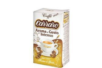 Кофе Aroma e Gusto Intenso, натуральный молотый  Carraro 250 г