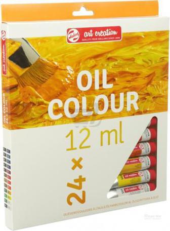 Набор олійних фарб 24 кольорів 12 мл ArtCreation Royal Talens