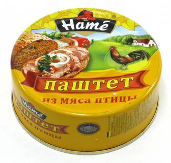 Паштет Hame 100+ 30 г Мясо птицы