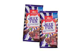 Шоколад молочний Макс Фан з мармеладом, печивом, карамеллю Корона 160 г
