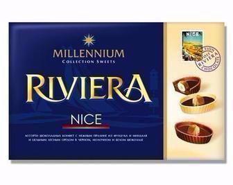 Цукерки шоколадні Millennium Riviera, 250г