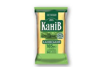 Сир твердий Канiвський 50% Канів 1971 185 г