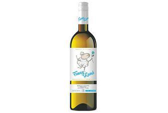 Вино Funny Lamb Muskat Ottonel Riesling Feteasca Alba напівсолодке, 0,75л