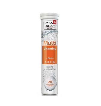 Витамины шипучие Swiss Energy Multivitamins №20