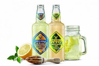 Пиво світле спеціальне S&R Garage Lemon, 0,44 л