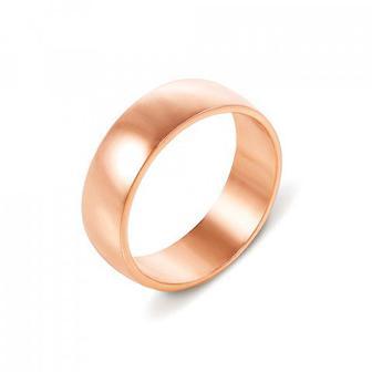 Обручальное кольцо классическое Артикул 10106