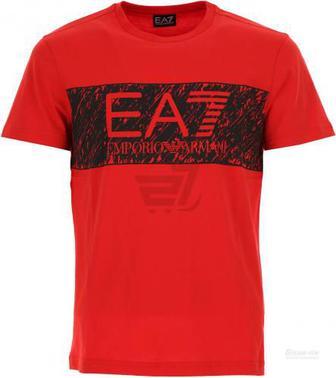 Футболка EA7 6YPT82-PJ02Z-1451 L червоний