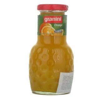 Сік Granini Orange 100% 0.2л