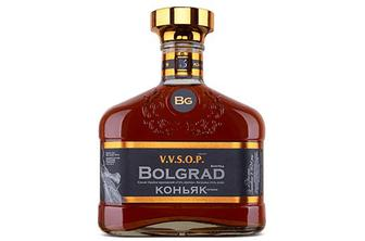 Скидка 18% ▷ Коньяк України Bolgrad ординарний 5 зірок, 0,5л