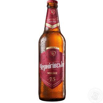Пиво Міцне Чернігівське 0,5л