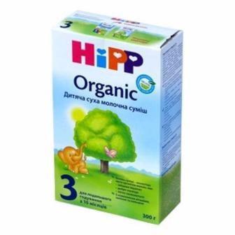 Смесь HiPP сухая молочная Organic 2 300г /3 500 г