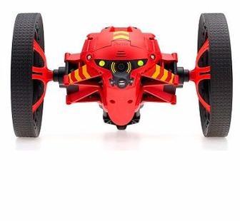 Радиоуправляемая модель Parrot Minidrones Jumping Night Marshall with Led Lights and Mic - Red