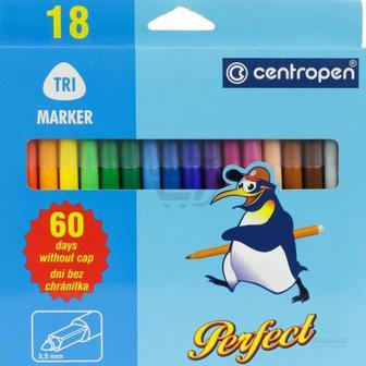 Фломастери Perfect 18 кольорів 2510/18 Centropen