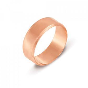 Обручальное кольцо. Европейская модель. Артикул 1007