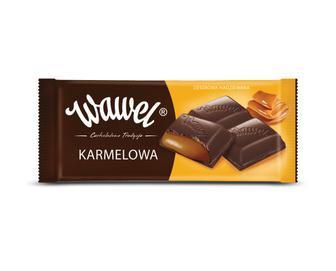 Шоколад молочний Wawel карамельний, 100 г