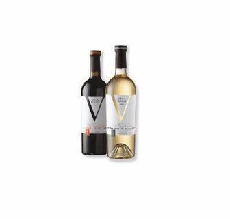 Вино біле напівсолодке Вілла Крим 0,75 л