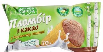 Морозиво Пломбір, Белая Бяроза, 70 г