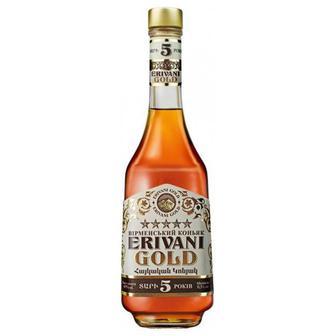 Коньяк 5* ERIVANI GOLD 0,5 л